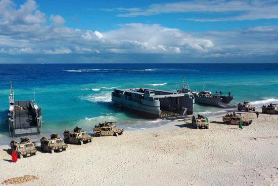 القوات البحرية تنفذ عملية تدريبية فى البحر المتوسط (3)