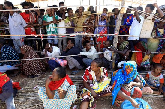 100244-لاجئون-إثيوبيون