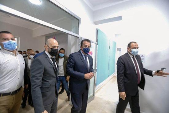 افتتاح-دار-عزل-مستشفى-سعاد-كفافي