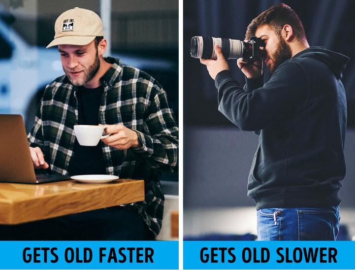 الجلوس طوال اليوم يسبب الشيخوخة المبكرة