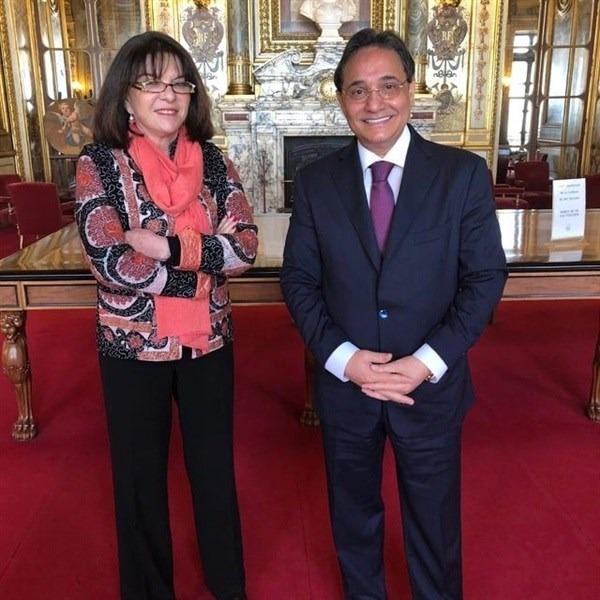 جامعة مصر تستقبل رئيس جامعة ريكسهام لتفعيل فرع لندن سكول للتجارة (2)
