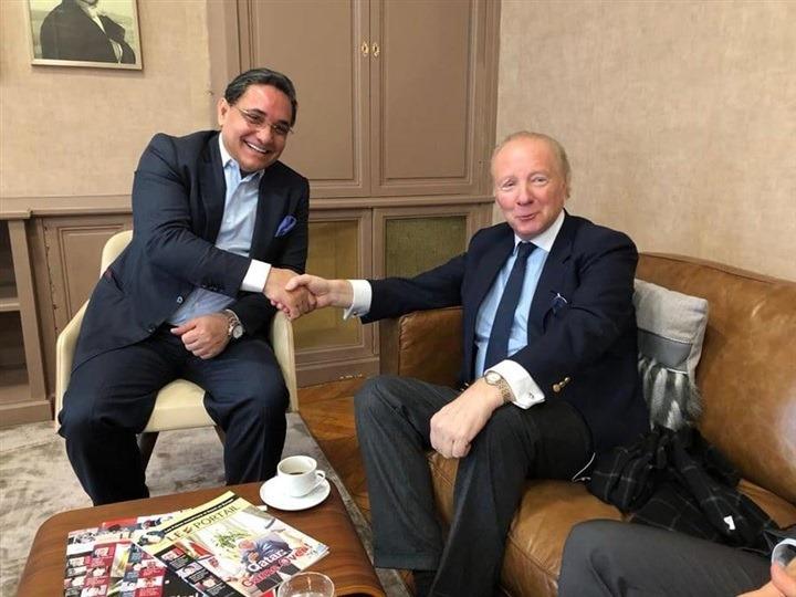 جامعة مصر تستقبل رئيس جامعة ريكسهام لتفعيل فرع لندن سكول للتجارة (5)