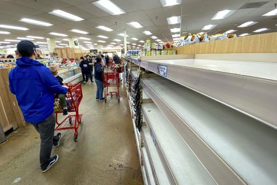الأمريكيون-يتجهون-لتخزين-احتياجاتهم-الغذائية