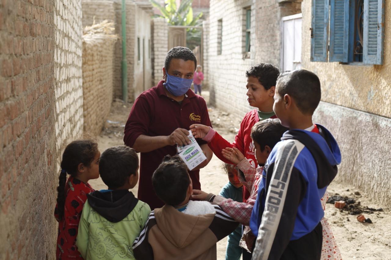 قافلة تكافل مؤسسة أبو العينين (4)