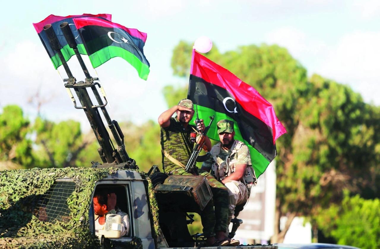 قوات الجيش الوطني الليبي