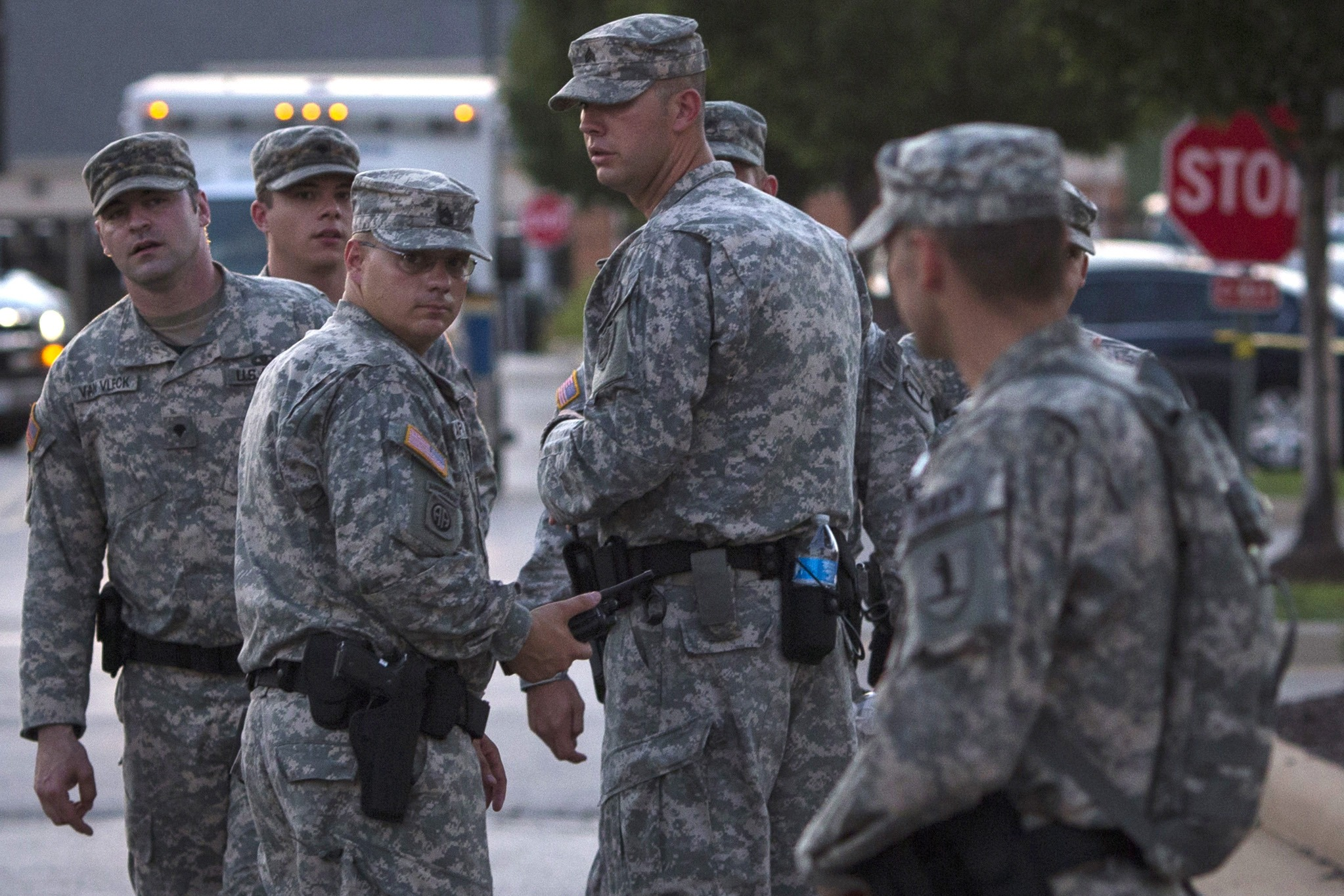 الحرس الوطني الامريكي