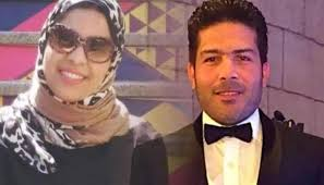 ياسر فرج وزوجته