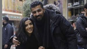 ريم سامي وشقيقها محمد سامي