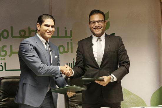 مؤسسة أبو هشيمة الخير وبنك الطعام يوقعان برتوكولا لمساعدة مليون مصرى (9)