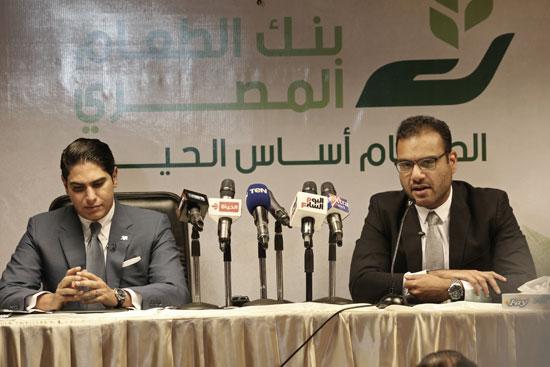 مؤسسة أبو هشيمة الخير وبنك الطعام يوقعان برتوكولا لمساعدة مليون مصرى (2)
