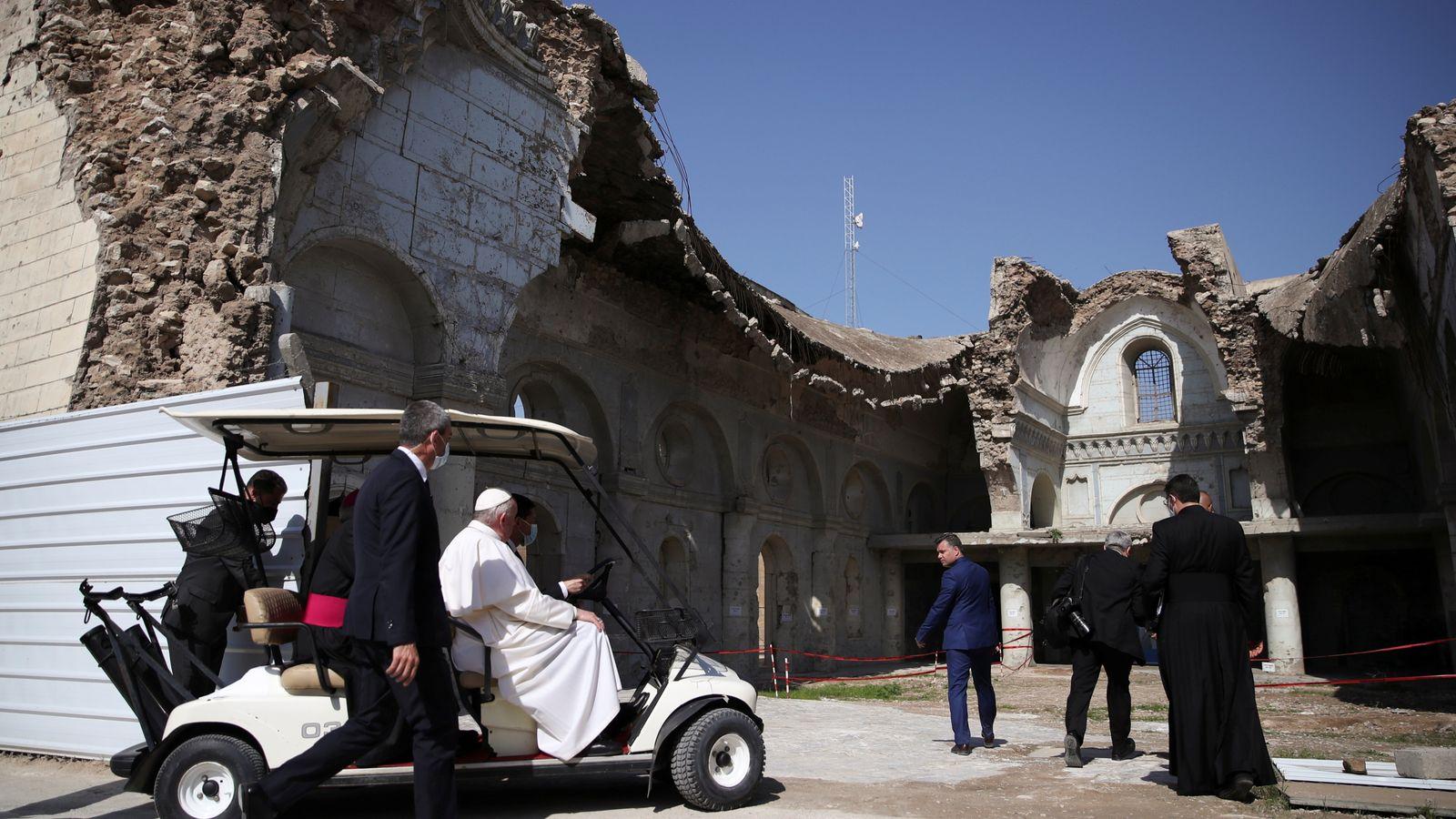 بابا الفاتيكان في العراق (5)