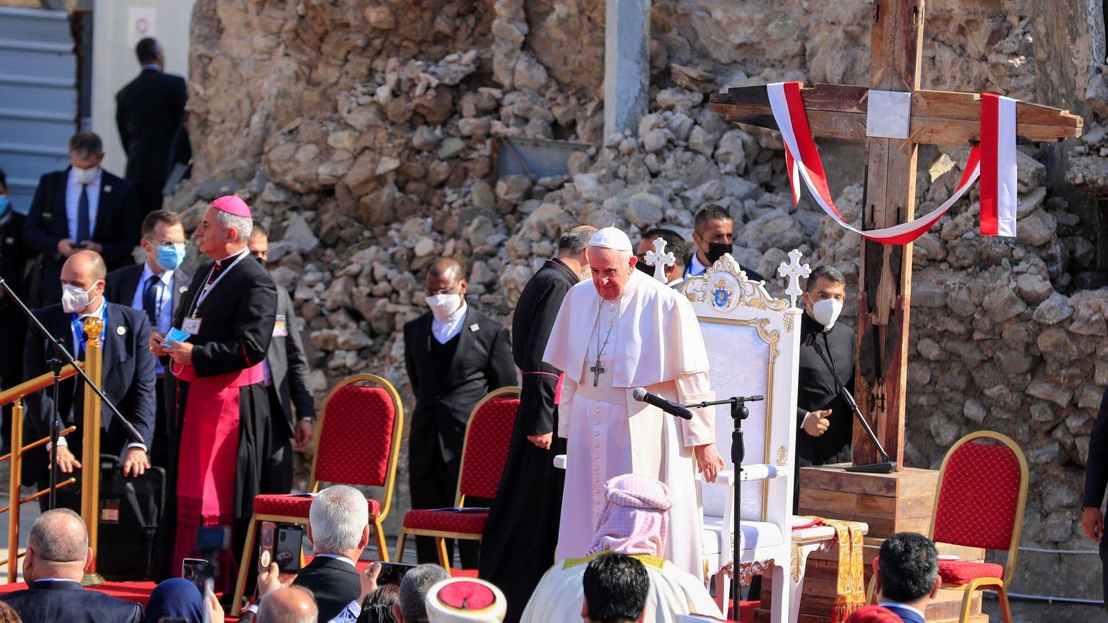 بابا الفاتيكان في العراق (2)