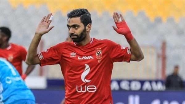 نجم الاهلي حسين الشحات