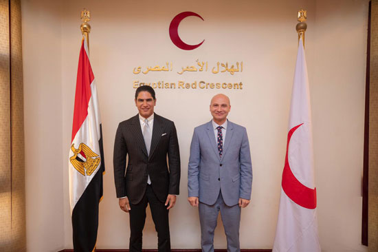 جمعية الهلال الأحمر المصري تشكر النائب أحمد أبوهشيمة (2)