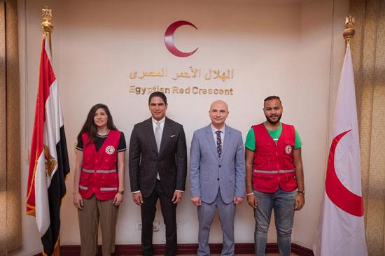 جمعية الهلال الأحمر المصري تشكر النائب أحمد أبوهشيمة (1)