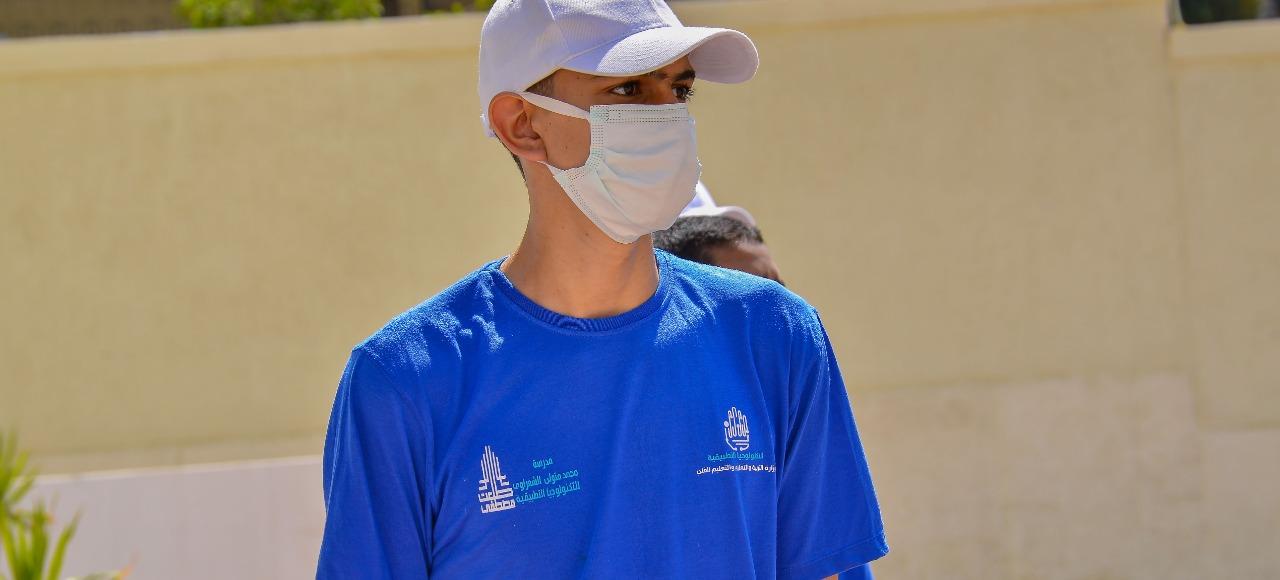 معسكر القادة لطلبة وطالبات مدرسة الإمام محمد متولي الشعرواي للتكنولوجيا التطبيقية (5)