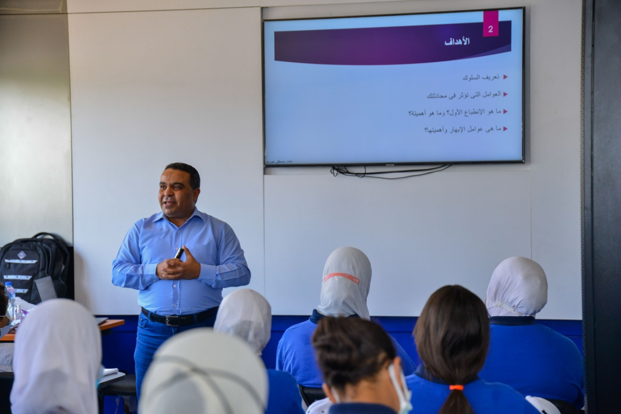 معسكر القادة لطلبة وطالبات مدرسة الإمام محمد متولي الشعرواي للتكنولوجيا التطبيقية (3)