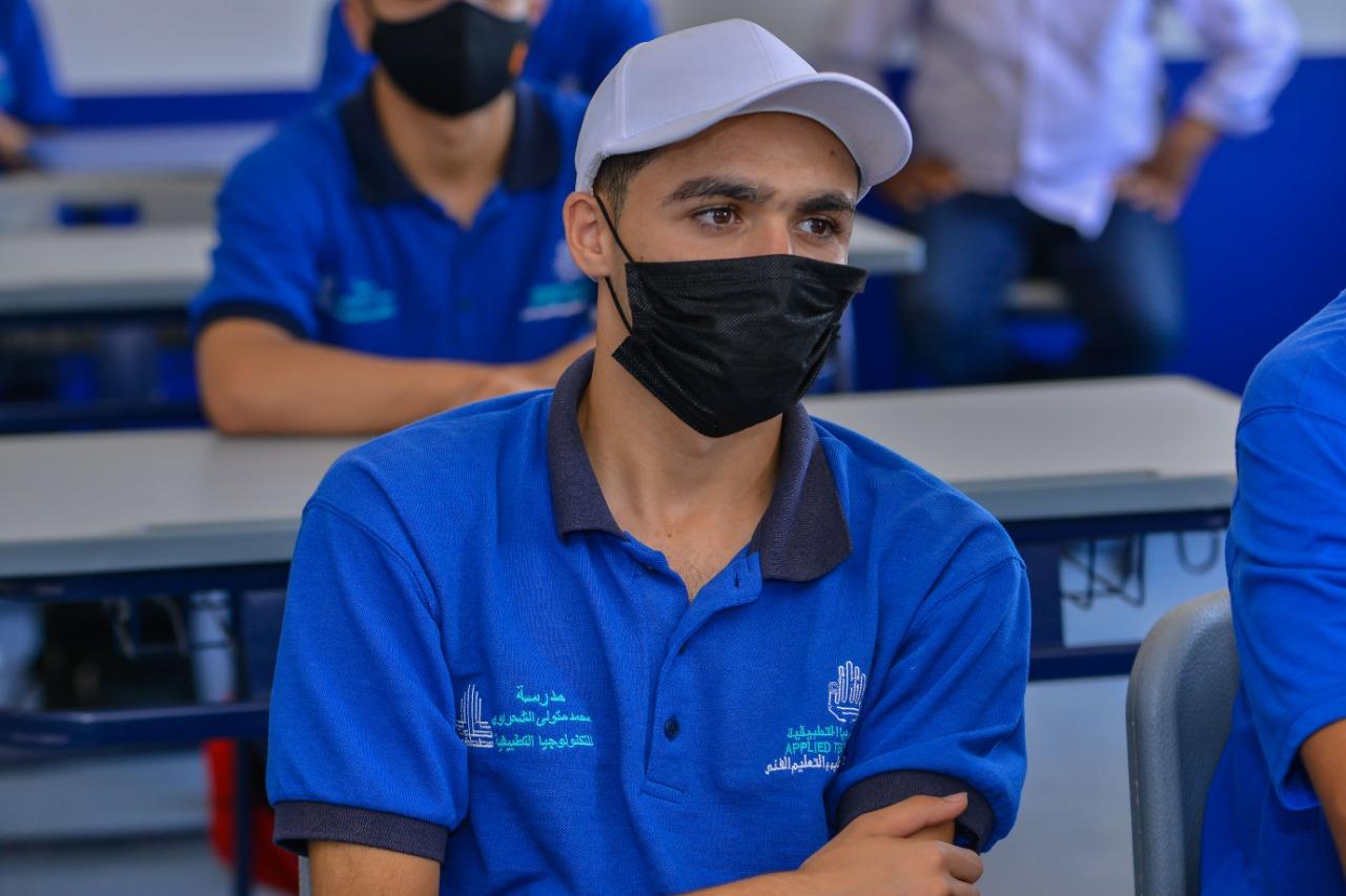 معسكر القادة لطلبة وطالبات مدرسة الإمام محمد متولي الشعرواي للتكنولوجيا التطبيقية (2)