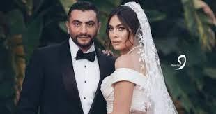 هاجر أحمد وزوجها أحمد حداد