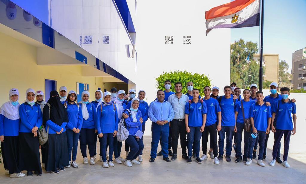 معسكر القادة لطلبة وطالبات مدرسة الإمام محمد متولي الشعرواي للتكنولوجيا التطبيقية (1)