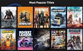 العاب Epic Games