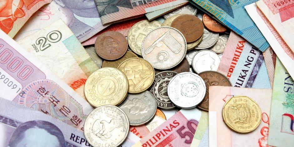 ننشر أسعار العملات الأجنبية اليوم الأحد 11-8-2019 أمام الجنيه المصري