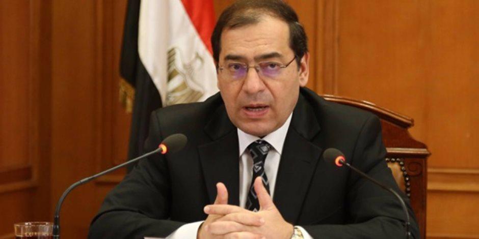 وزير البترول: نستهدف زيادة الإنتاج المحلى من الثروة البترولية