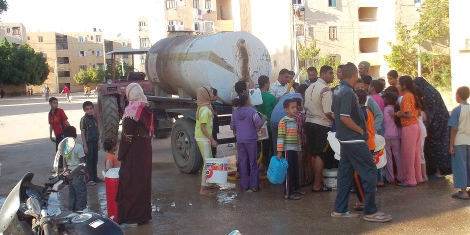 اليوم.. 4 مناطق بالقاهرة تنتظر انقطاع المياه لمدة 12 ساعة