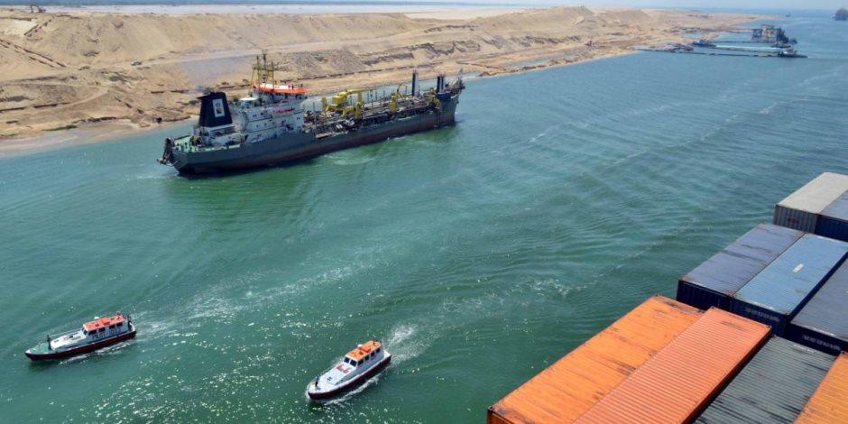 في 8 أيام.. عبور 386 سفينة قناة السويس من الاتجاهين بحمولة 21.8 مليون طن