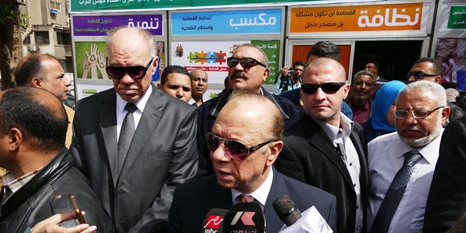 محافظة القاهرة:التنسيق مع مأموري الأقسام لتجهيز المركز الانتخابية