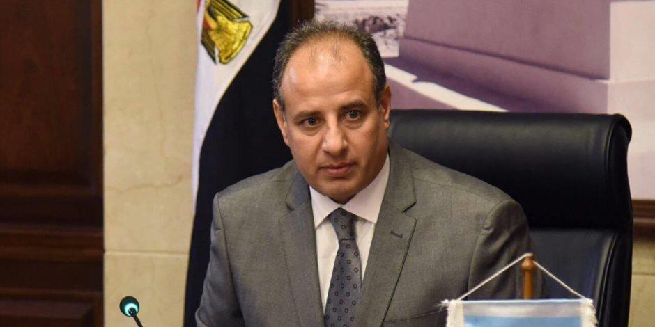 محافظ الإسكندرية ينعى شهاء الشرطة في «كمين البدرشين»