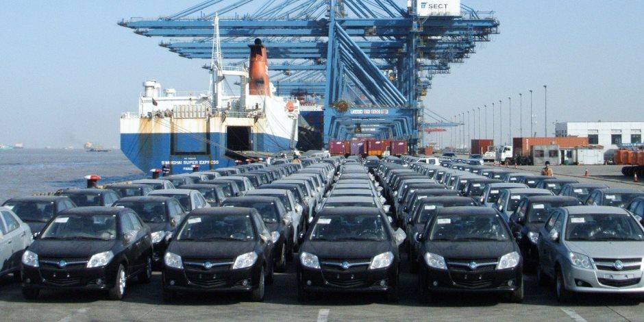 3 مليار و450 مليون جنية قيمة السيارات الملاكى وسيارات النقل والمعدات ورسائل قطع غيار السيارات بجمارك السيارات ببورسعيد
