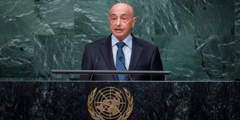 رئيس مجلس النواب الليبي: مبادرة القاهرة الأقرب لحل الأزمة الليبية