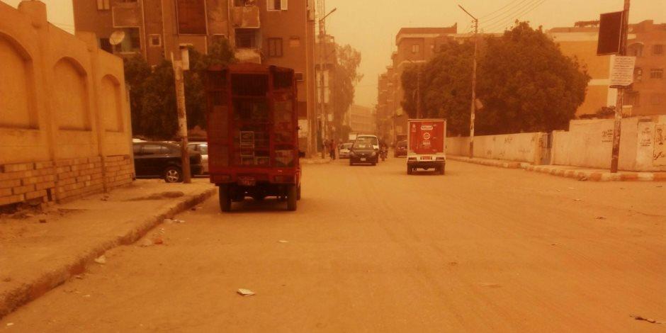 تسجيل 700 حالة اختناق جراء العاصفة الترابية في كربلاء العراقية