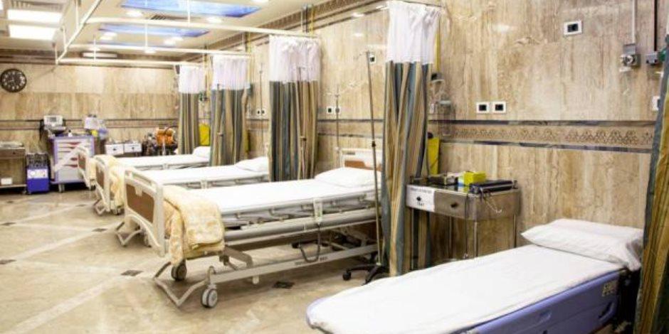 وكيل «صحة البحيرة» يتفقد مستشفى المحمودية المركزي