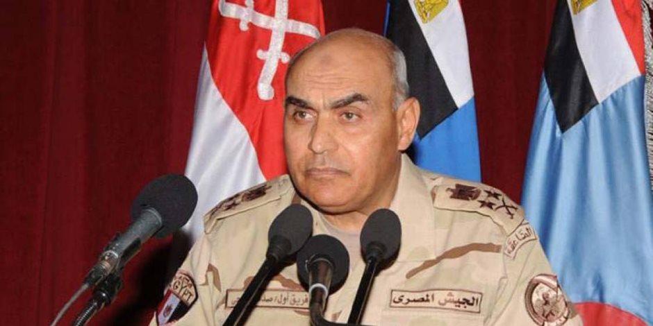 نص كلمة اللواء أحمد خالد قائد القوات البحرية أثناء مراسم تسليم الغواصة الثانية