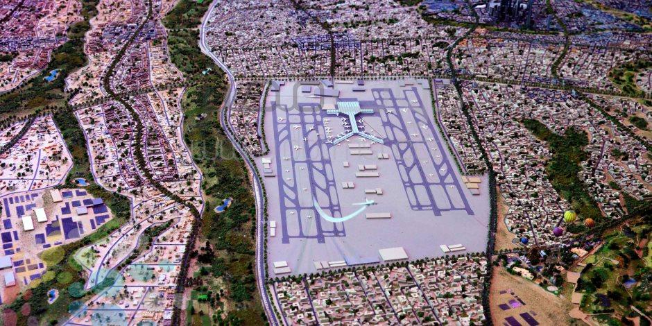 4 محاور رئيسية لربط العاصمة الإدارية بالمدن المجاورة لها