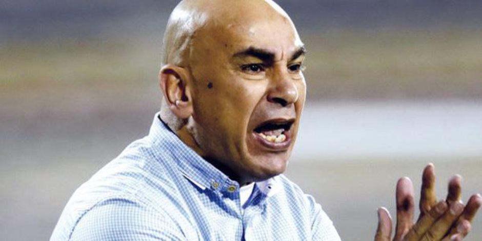 مصدر بجهاز الزمالك يتهم حسام حسن بسب ثنائي الفريق