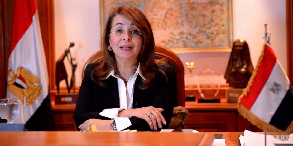 وزيرة التضامن تشهد انطلاق حفل ختام المرحلة الاولى من «ممر النور»