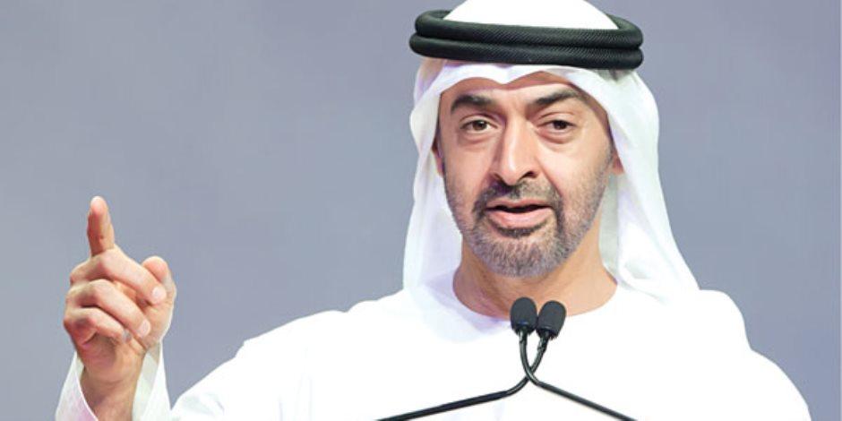 الشيخ محمد بن زايد يهنئ بن سلمان لاختياره وليا للعهد السعودي