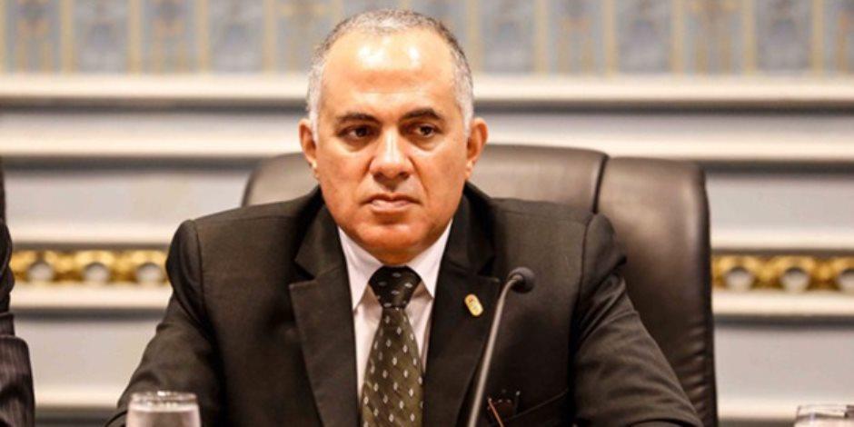 وزير الري: البنية التشريعية للوزارة لم تتطور منذ 30 عاما