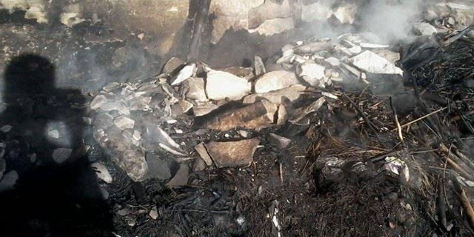 السيطرة على حريق بجوار البنك الأهلي في جاردن سيتي