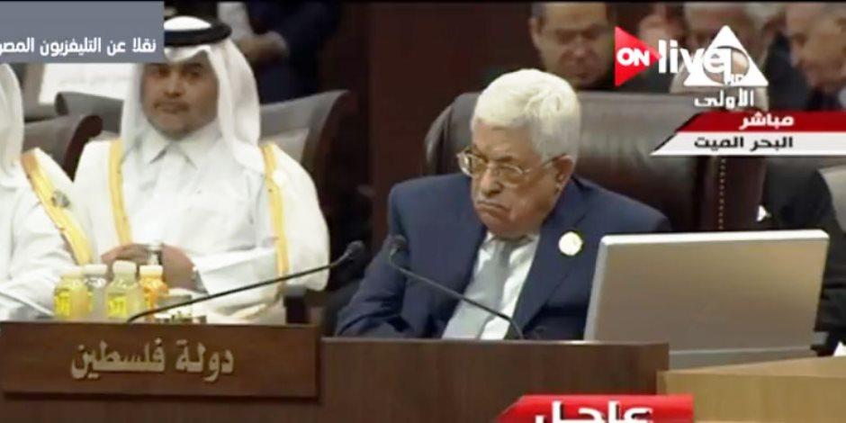 وكالة وفا: الرئيس عباس يشكر مصر لرعايتها ملف المصالحة الفلسطينية