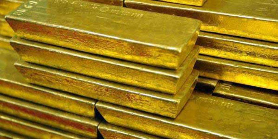 انخفاض طفيف بالأسعار العالمية للذهب اليوم الإثنين