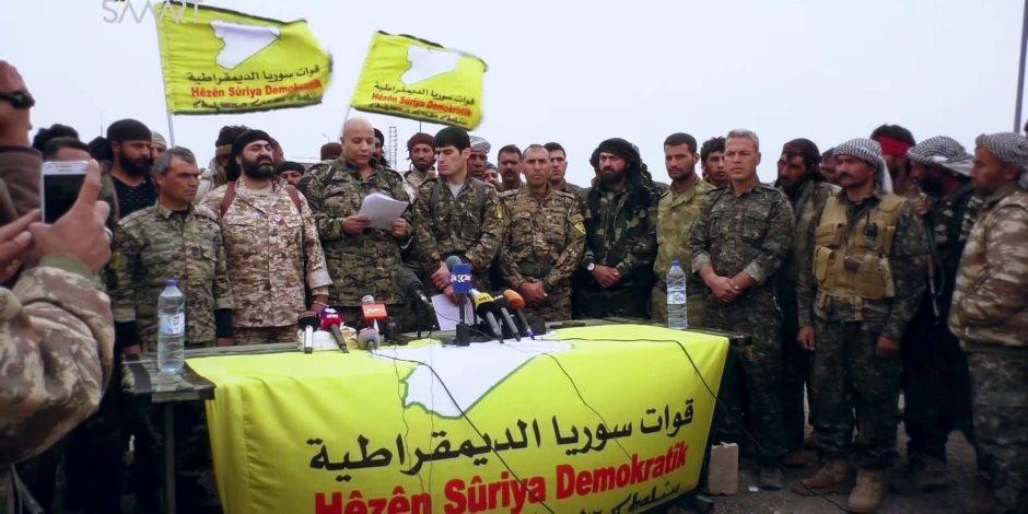 قوات سوريا الديموقراطية تهزم مسلحي داعش في دير الزور