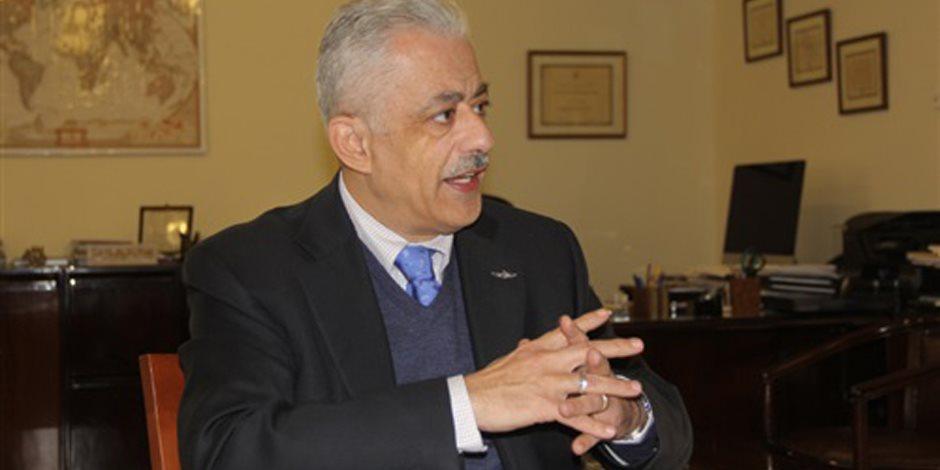 خلال مؤتمر التعليم في مصر.. طارق شوقي: «احنا زهقنا»