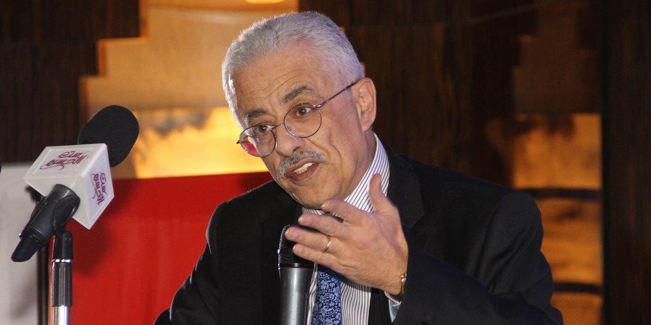 طارق شوقي: النظام التعليم 2020 سيطبق على رياض الأطفال وأولى ابتدائي سبتمبر المقبل
