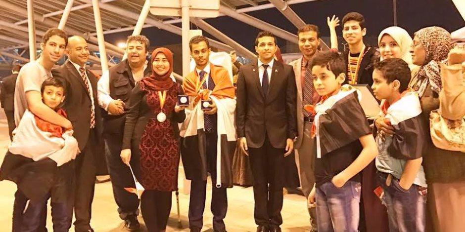وزير التعليم يطالب بالاستفادة من مخترعين حاصدي جوائز «جنيف» في تطوير  المنظومة التعليمية (صور)