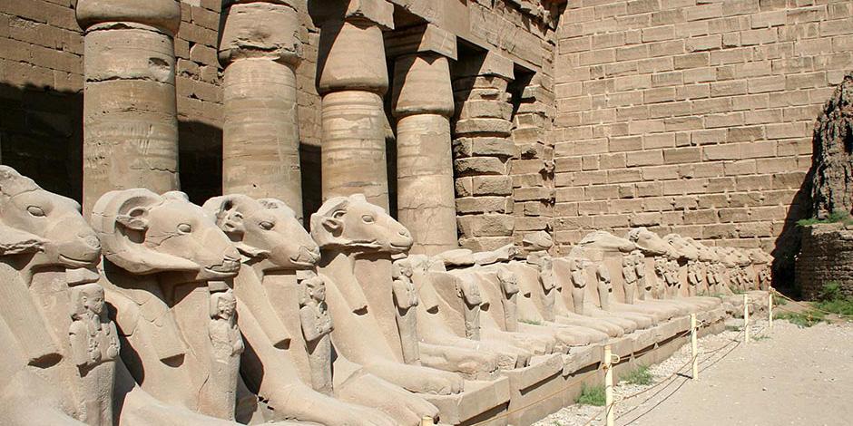 """15 معلومة عن """" طريق الكباش """" بالأقصر  بعد اقتراب موعد افتتاحه للسائحين"""