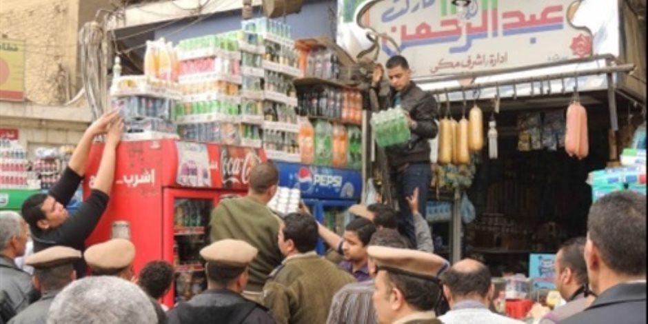 تحرير 38 قضية متنوعة في حملة تموينية بالجيزة
